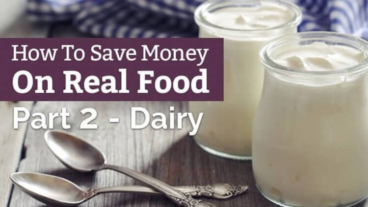 Buying organic, grass-fed, or raw dairy can give you major sticker shock. Here are some creative ways on how to save money on healthy food.